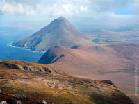 Mountains of Achill Island Looking East